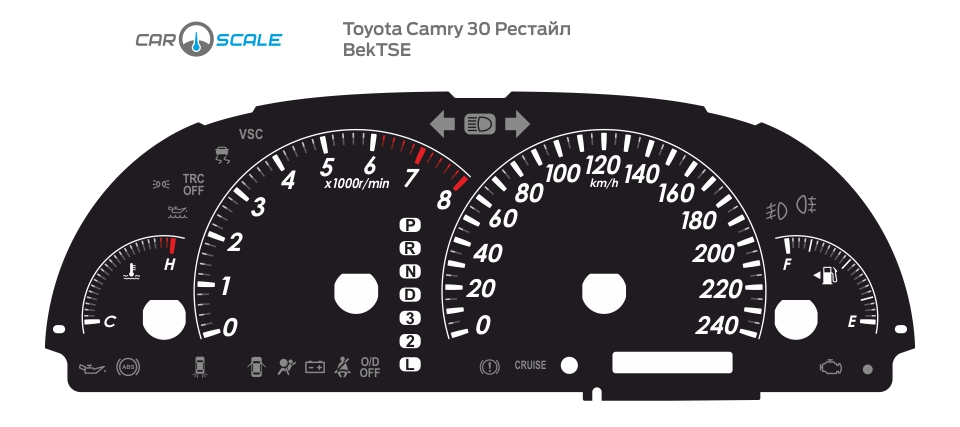 TOYOTA CAMRY 30 REST 01