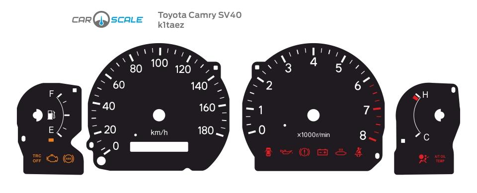TOYOTA CAMRY SV40 01