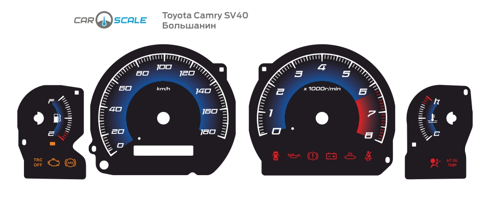TOYOTA CAMRY SV40 02