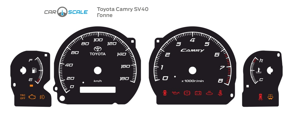 TOYOTA CAMRY SV40 03