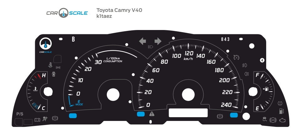 TOYOTA CAMRY V40 01