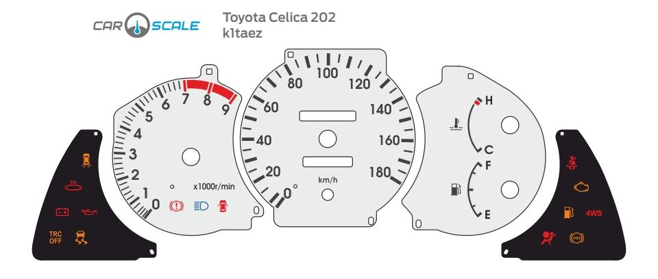 TOYOTA CELICA 202 01