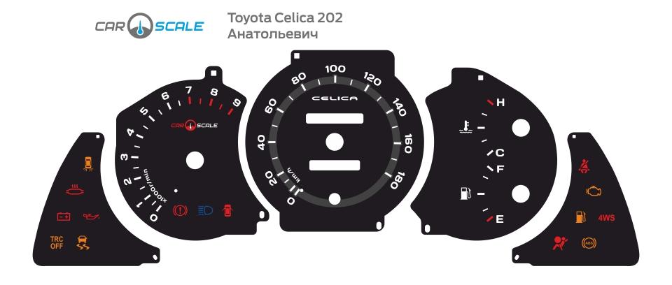 TOYOTA CELICA 202 02