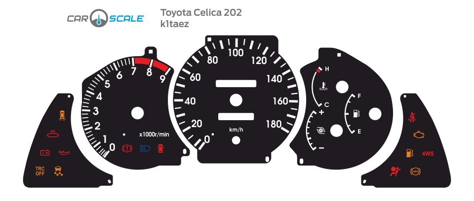 TOYOTA CELICA 202 09