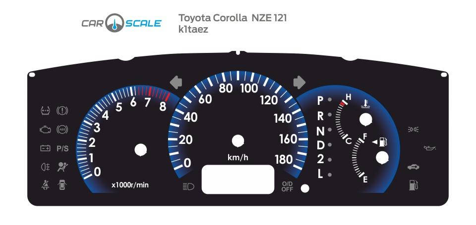 TOYOTA COROLLA NZE 121 01