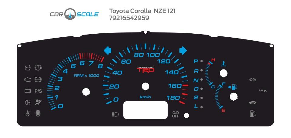 TOYOTA COROLLA NZE 121 02