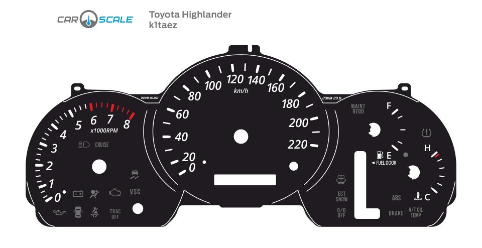TOYOTA HIGHLANDER 01