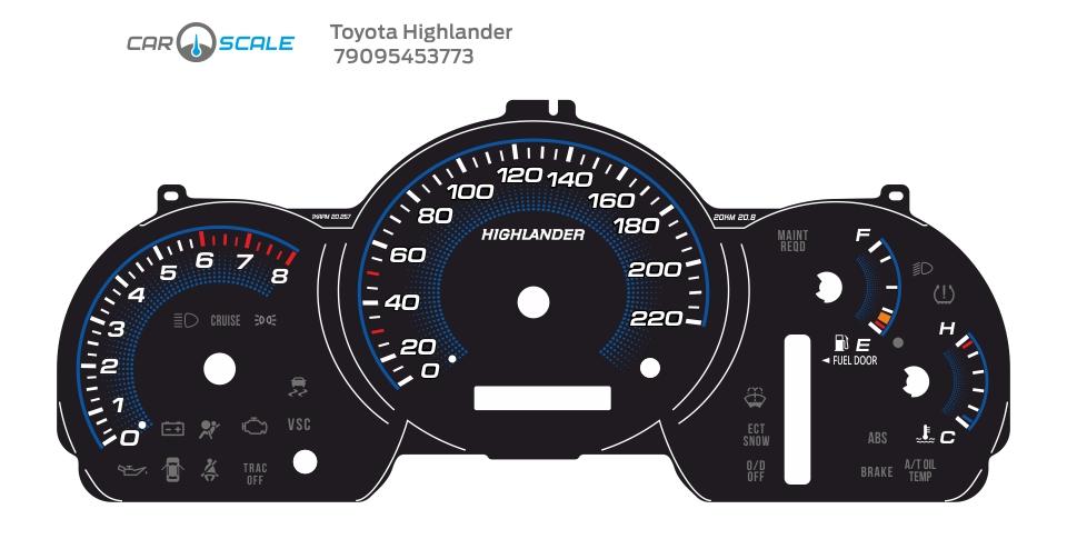 TOYOTA HIGHLANDER 05