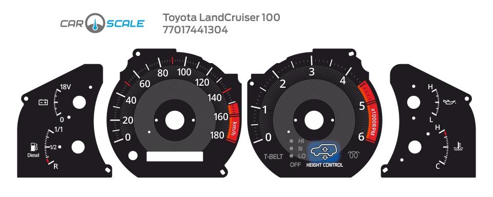 TOYOTA LAND CRUISER 100 05