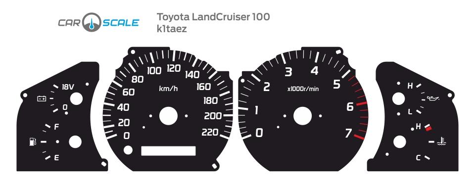 TOYOTA LAND CRUISER 100 01