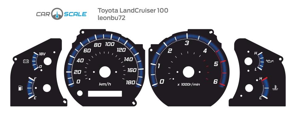 TOYOTA LAND CRUISER 100 04