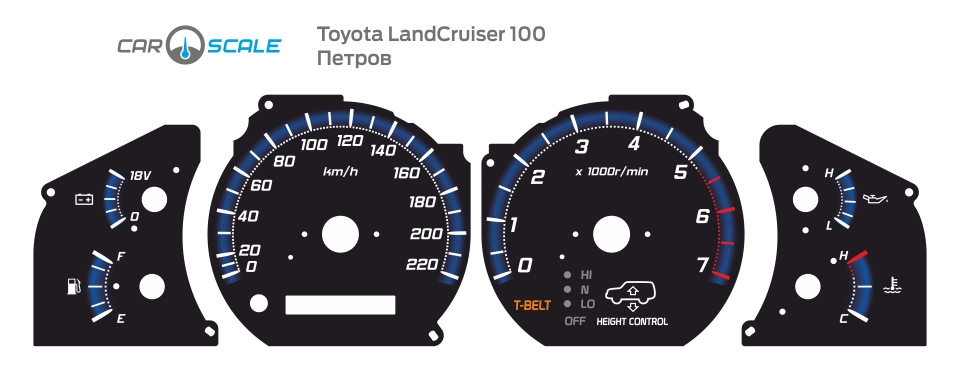 TOYOTA LAND CRUISER 100 06