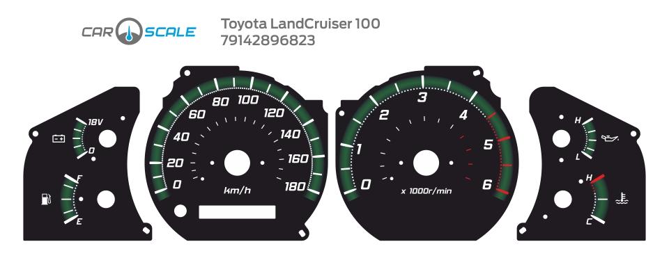 TOYOTA LAND CRUISER 100 07