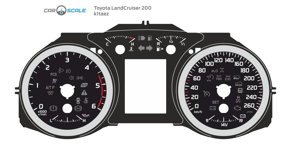 TOYOTA LAND CRUISER 200 01
