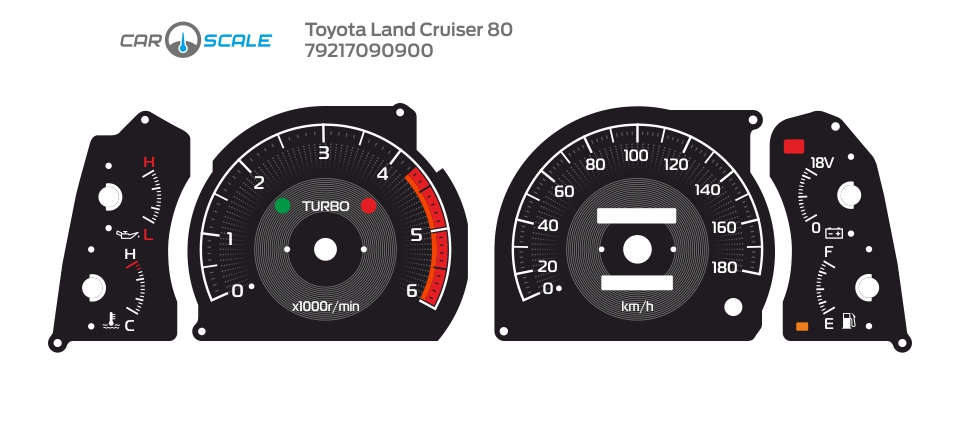 TOYOTA LAND CRUISER 80 12