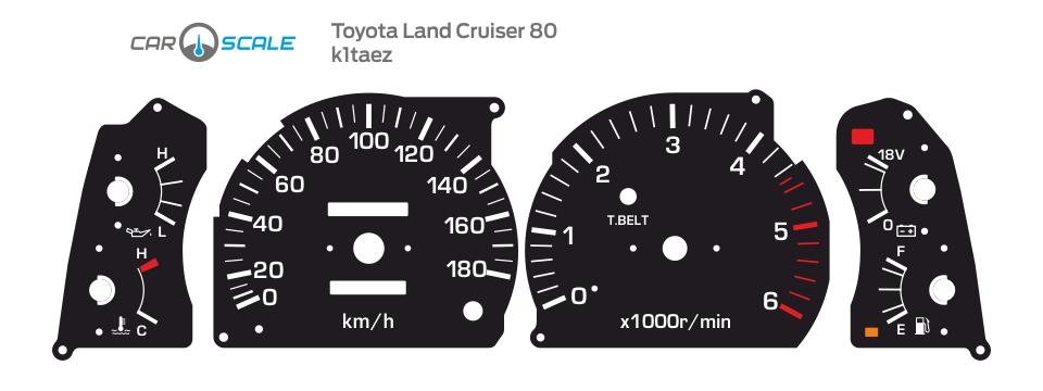 TOYOTA LAND CRUISER 80 01