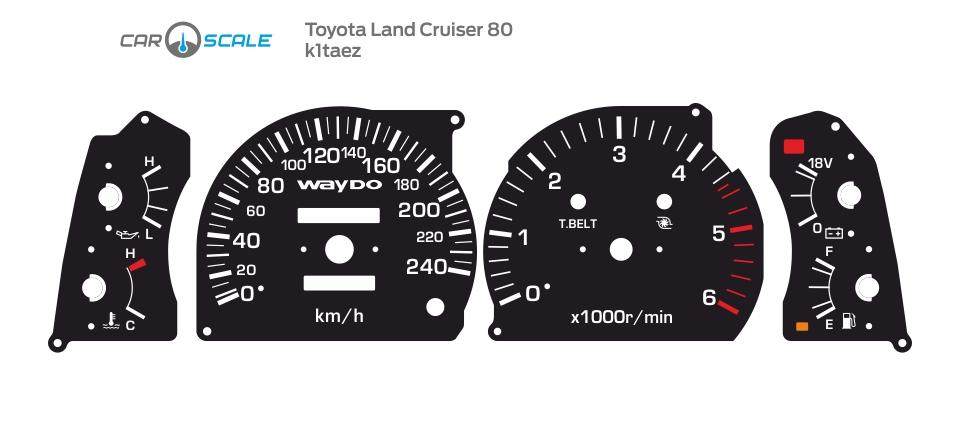 TOYOTA LAND CRUISER 80 05