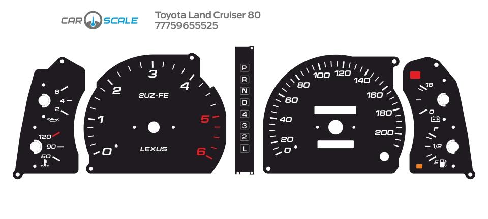 TOYOTA LAND CRUISER 80 06