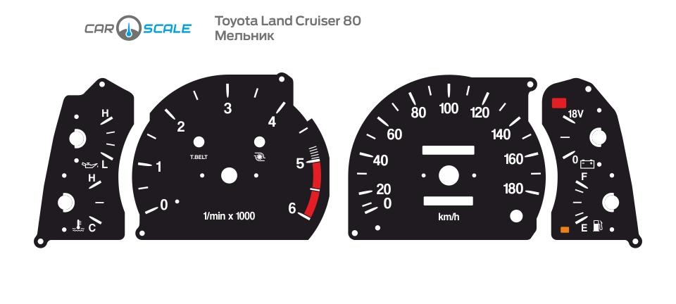 TOYOTA LAND CRUISER 80 07
