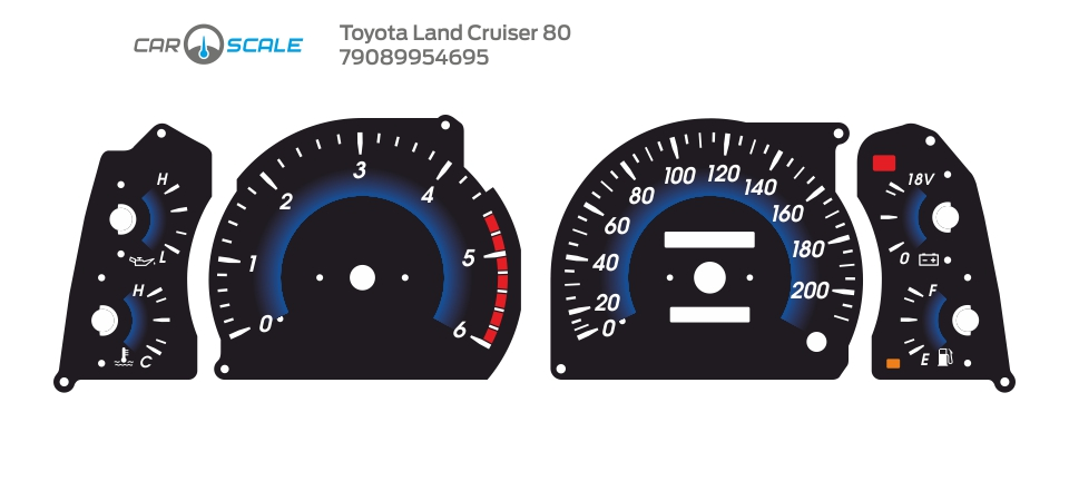 TOYOTA LAND CRUISER 80 08