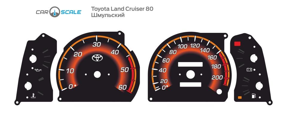 TOYOTA LAND CRUISER 80 09