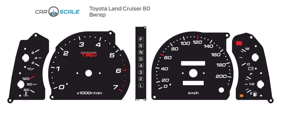 TOYOTA LAND CRUISER 80 10