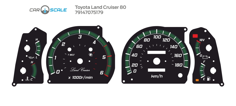TOYOTA LAND CRUISER 80 11