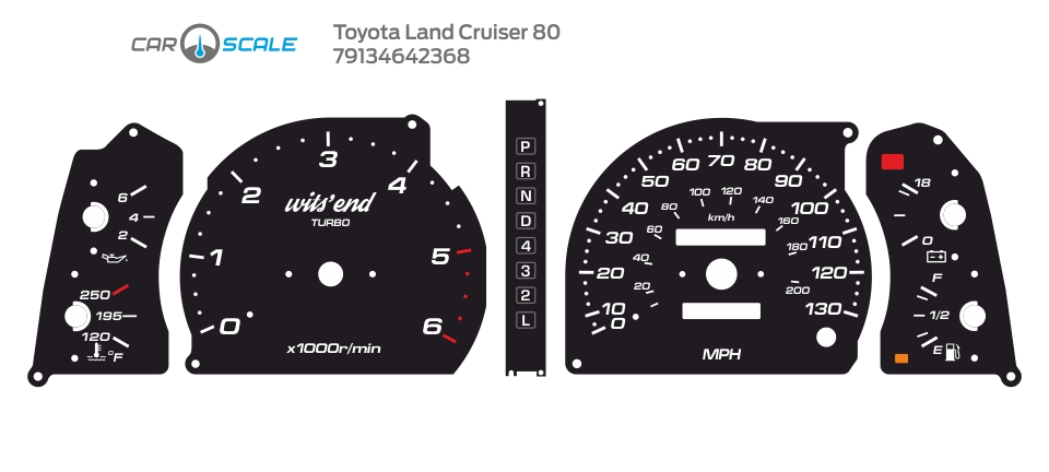TOYOTA LAND CRUISER 80 14