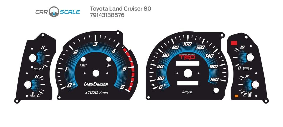 TOYOTA LAND CRUISER 80 16