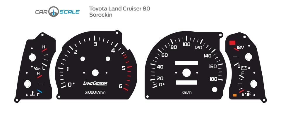 TOYOTA LAND CRUISER 80 18