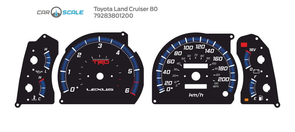 TOYOTA LAND CRUISER 80 19