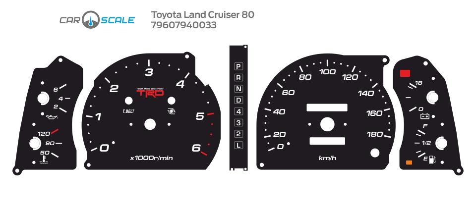 TOYOTA LAND CRUISER 80 20