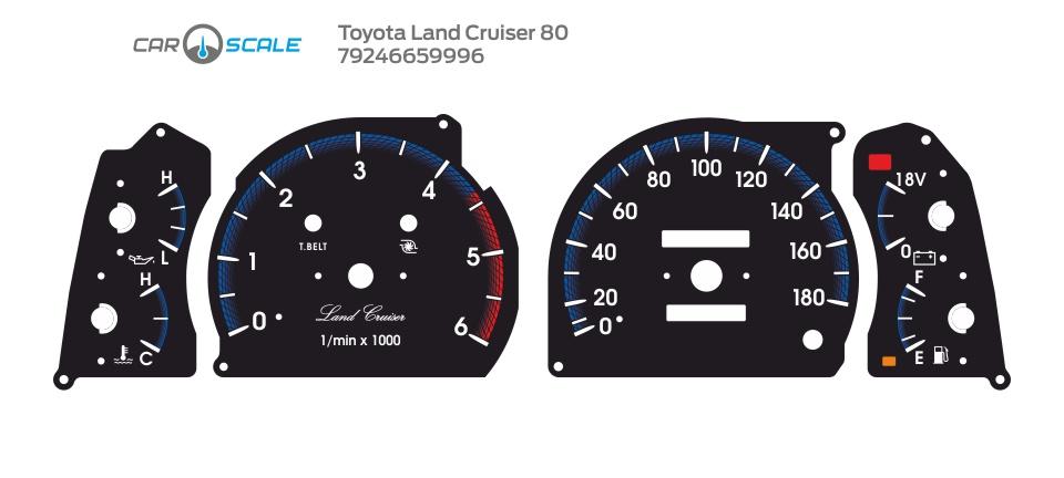 TOYOTA LAND CRUISER 80 21