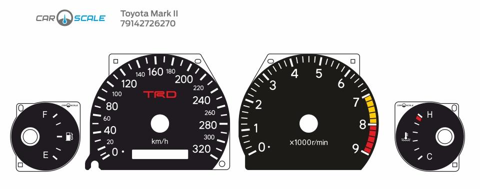 TOYOTA MARK 2 100 05