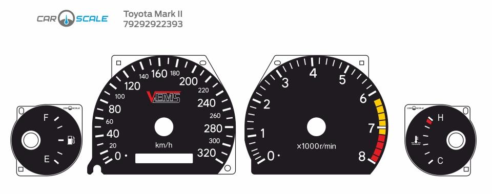 TOYOTA MARK 2 100 10