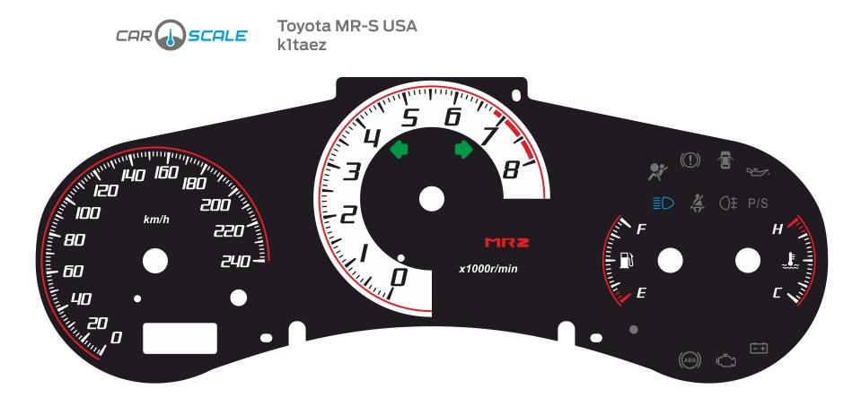 TOYOTA MR-S USA 01