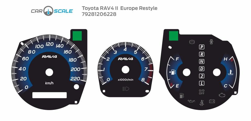TOYOTA RAV4 2 EU REST 05