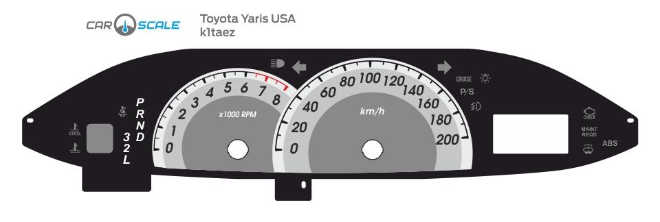 TOYOTA YARIS USA 01