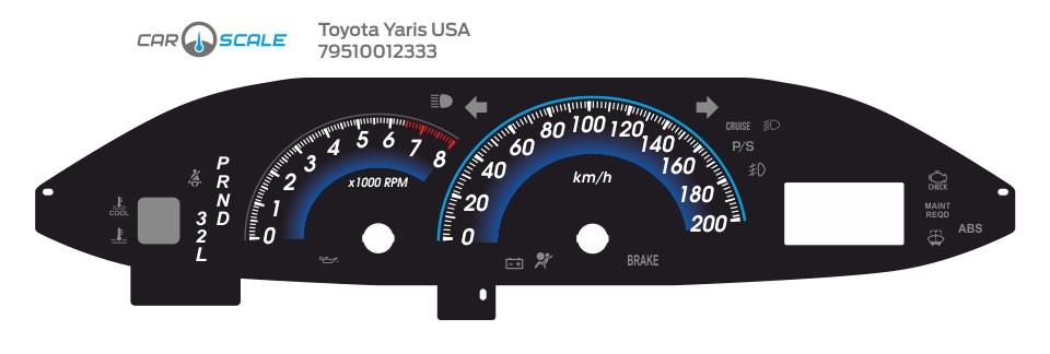 TOYOTA YARIS USA 02