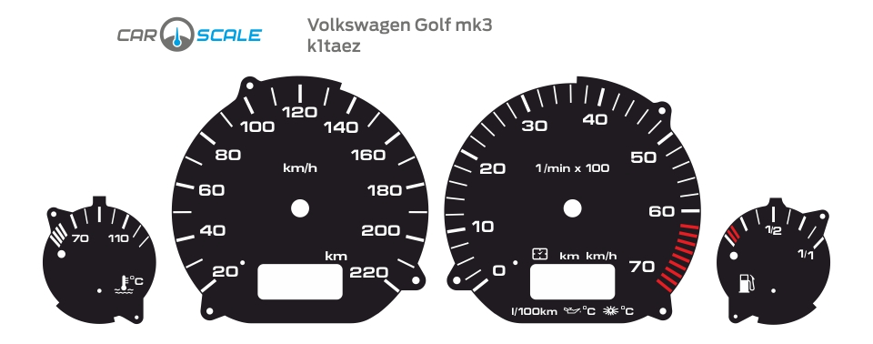 VOLKSWAGEN GOLF 3 01