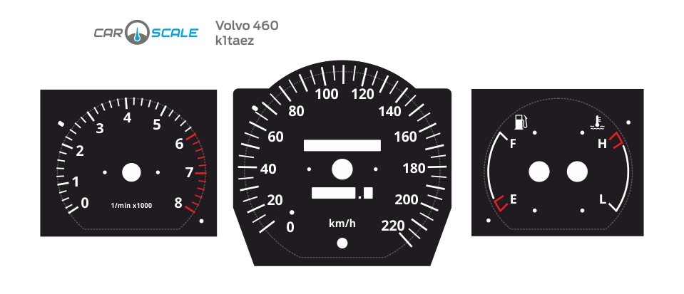 VOLVO 460 01