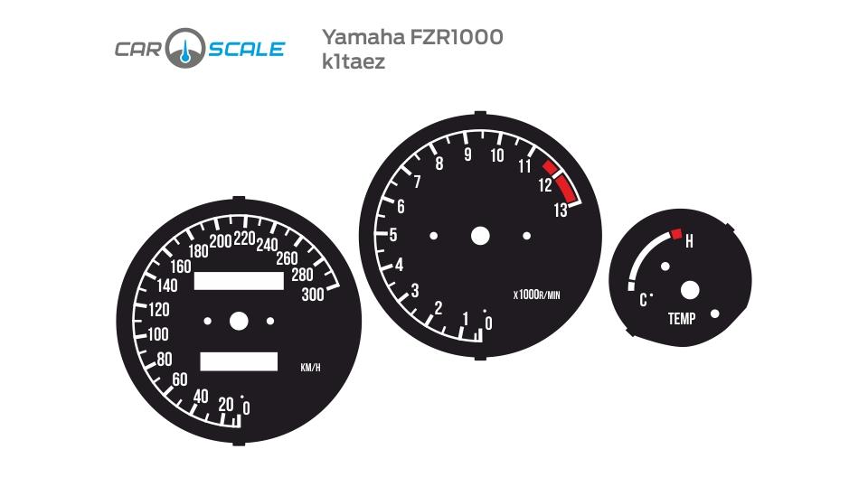 YAMAHA FZR1000 01