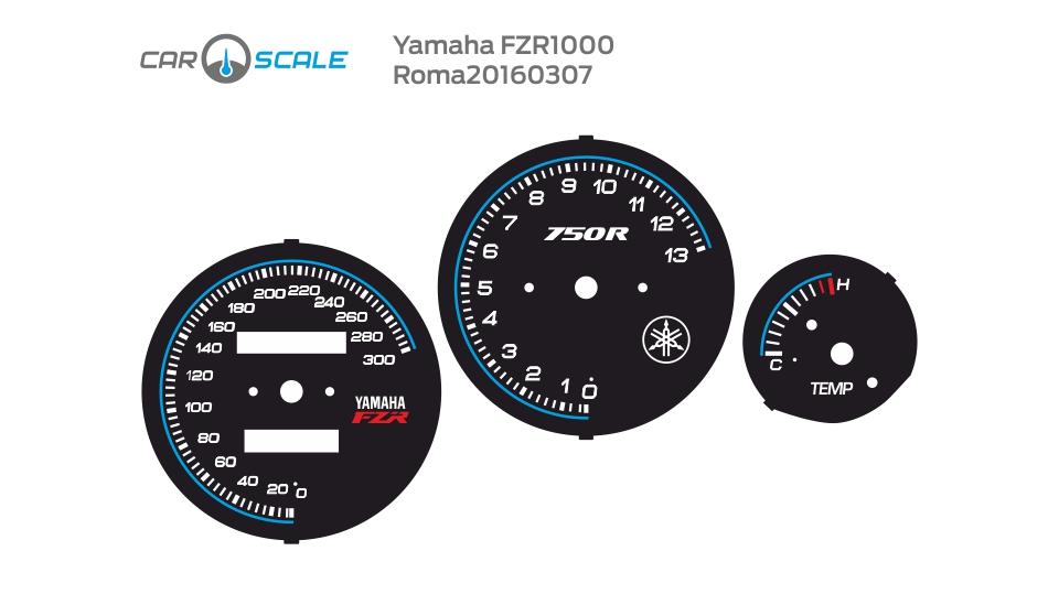 YAMAHA FZR1000 03