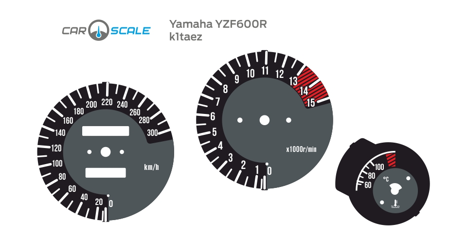 YAMAHA YZF600R 01