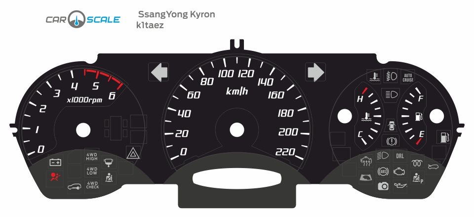 SSANGYONG KYRON DIESEL 01