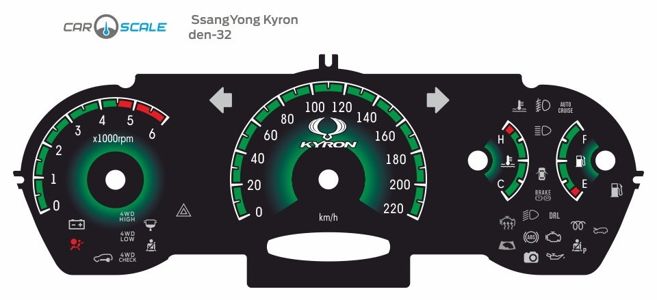 SSANGYONG KYRON DIESEL 04