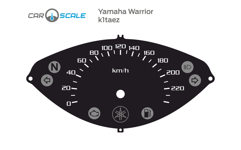 YAMAHA WARRIOR 01