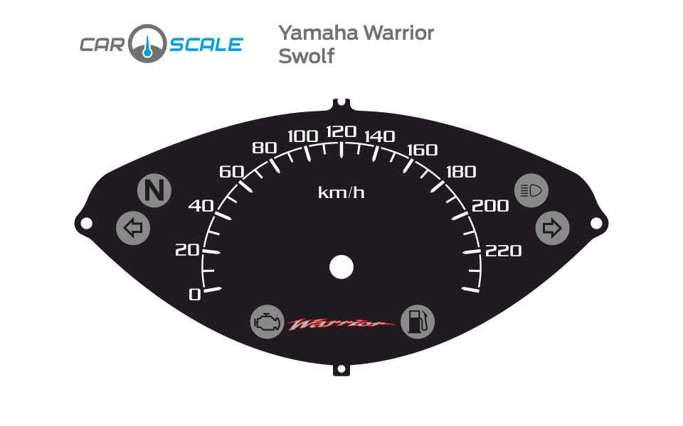 YAMAHA WARRIOR 02
